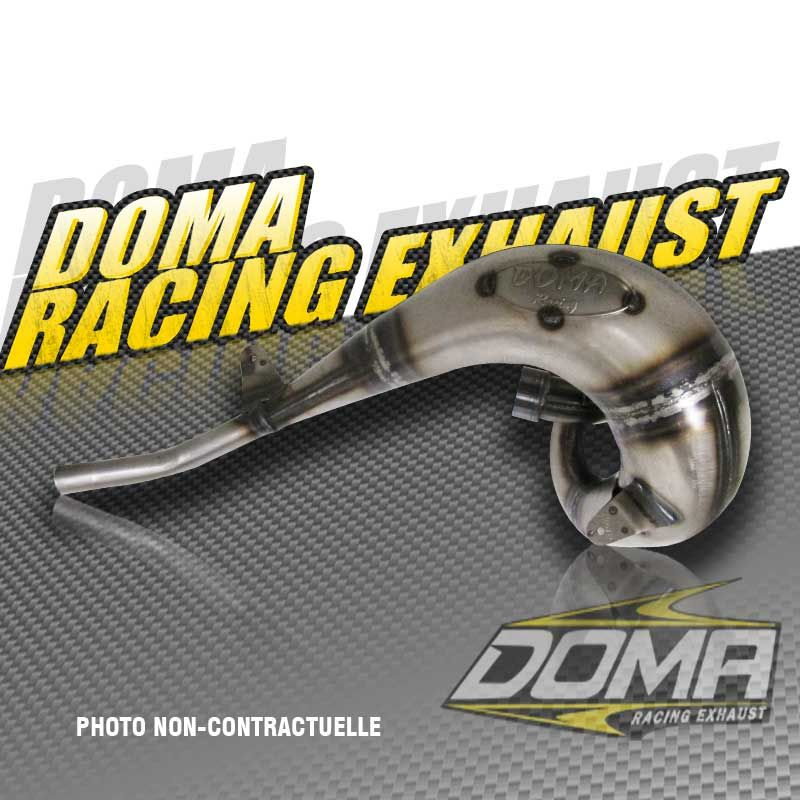 racing factory exhaust pipe ktm 380 sx / exc 98-04 - doma racing