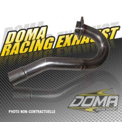 TWIN HEAD PIPE YAM YFM 700 RAPTOR 06-10