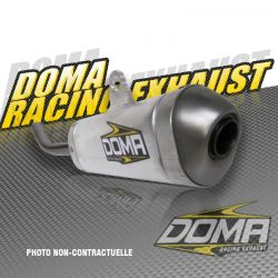 RACING SILENCER 200MM ROND YAM YZ 85 02-15